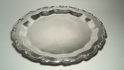 """Sterling Silver serving tray 925 made in Peru. 11"""""""