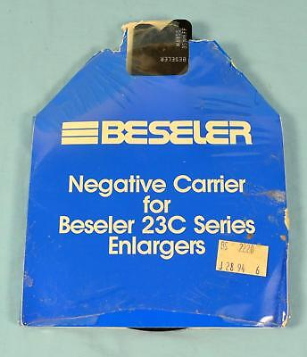 * Beseler Negative Carrier #8055 35mmFF for use on 23C Series Enlargers