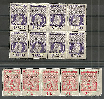Argentinia Ley de Sellos see scan Stamp Act