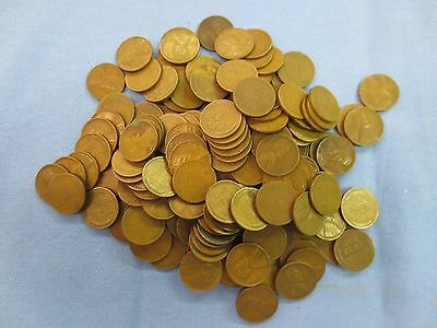 Lot of 153 US Wheat Back Lincoln Pennies