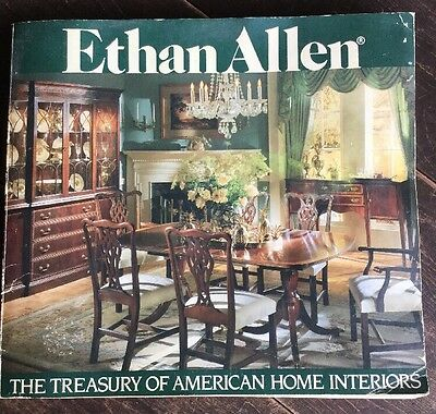 VTG Ethan Allen The Treasury of American Home Interiors American Collections CAT