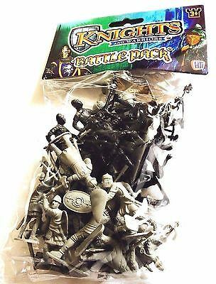 Knights And Warriors Battle Pack Plastic Toys Army Military War Children Games