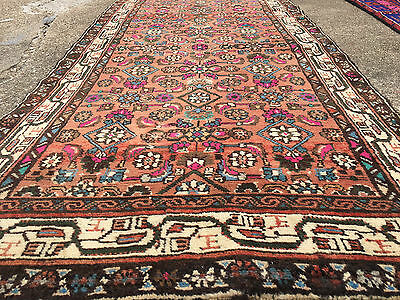3x10 HAND KNOTTED PERSIAN IRAN RUG RUNNER ANTIQUE WOVEN WOOL MADE 3 x 10 rugs 11