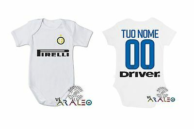 Body Neonato Baby Inter Tuo Nome Bodysuit Infant Baby Newborn Name