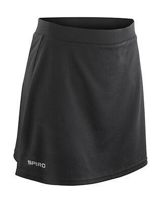 Result Spiro Damen Rock Ladies Skort Laufrock Tennis Sport S M L XL XXL