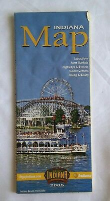 2005 Indiana Map Visitor's Guide