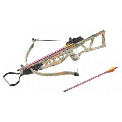 120lbs MK Hunting 120LBS Recurve Powerful Crossbow Camouflage Finish New