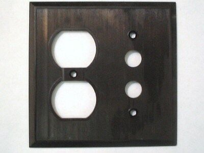 Bryant Electric Corporation Vintage Push-Button Power Outlet Switch Wall Plate