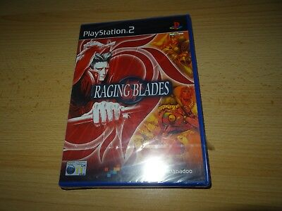 Raging Blades ps2 Sony PlayStation 2 pal version version NEW & SEALED