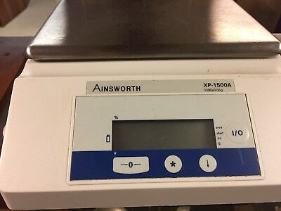 Denver Instruments Ainesworth  Xp1500a Top Loading Balance With Electric Adapter