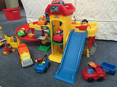Fisher Price Little People With Cars And Accessories