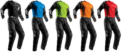2018 Thor Sector Zones Pant & Jersey Riding Gear Combo Set Atv Motocross Offroad