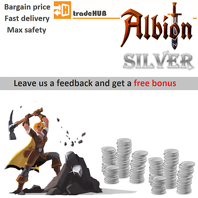 Albion Online Silver | Bargain price and Maximum safety | gold, currency