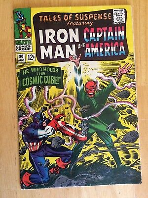 Tales Of Suspense #80 FN 6.0 Cosmic Cube KEY Captain America Iron Man Silver Age