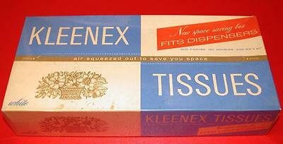 VINTAGE 1930's 1938 KLEENEX TISSUES Old Store Stock MINT IN BOX NOS RARE MIB !!!