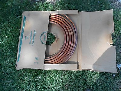MUELLER INDUSTRIES, Copper Tubing, Type K, Soft coil, Water, 3/4 In.X 60ft.