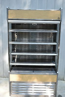 Oasis Structural Concepts Vertical Air Curtain Refrigerator