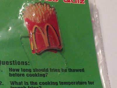 Mcdonalds Crew Fries Quiz PIN