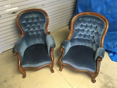 GrandFather/Grandmother, Provincial Wingback Chairs
