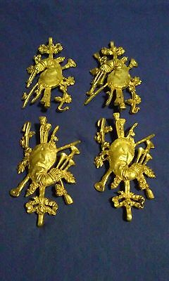 4 piece vintage/antique bronze ormolu [4 pieces for$50 ]