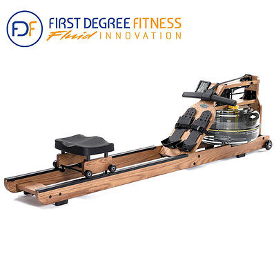 FDF Fluid Viking 2 AR Water Rower Exercise Rowing Workout Machine (AU SELLER)