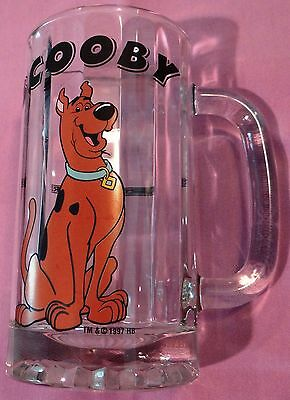 Heavy Scooby Doo WB Warner Brothers Studio Store root beer mug glass cup