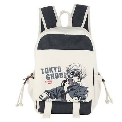 Innturt Anime Canvas Backpack Bag Rucksack School Bag Tokyo Ghoul*Fast,Free Ship