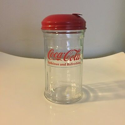 Vintage 1992 Coca Cola Sugar Dispenser
