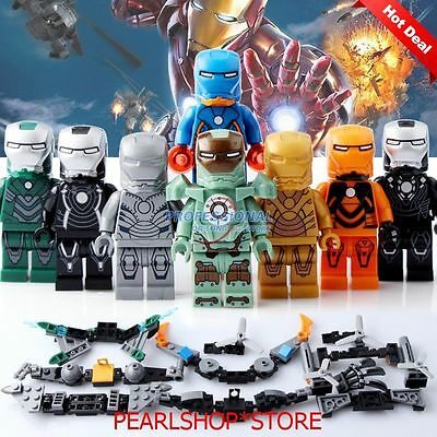 12 pcs batman movie 2017 custom mini figures super heroes - Mini iron man ...