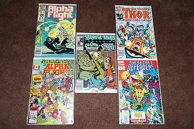 Marvel Comics Lot Of 10 Books...bagged & Boarded! #8
