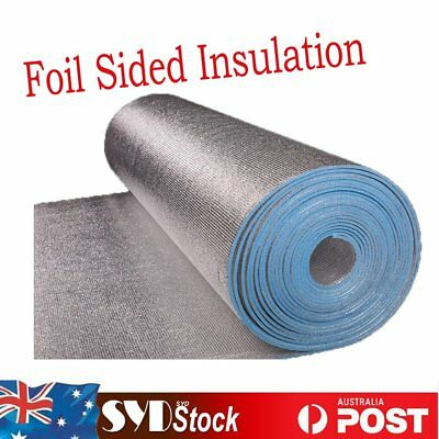1Mx8.5M XPE Foil Foam Insulation Steel Frame Roof  Heat Barrier Flame Retardant