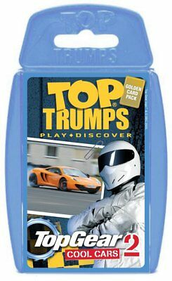 Top Gear Cool Cars 2 Top Trumps Card Game New Sealed