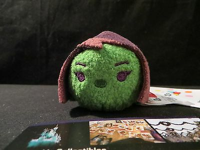 "Disney Store Gamora Guardians of the Galaxy Tsum Tsum 3.5"" plush toy mini USA"