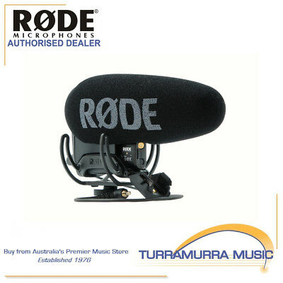 Rode VideoMic Pro+ Rechargeable On Camera Microphone VMP+ with FREE RODE GIFT