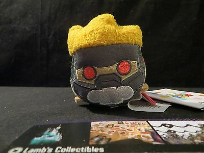 "Disney Store Star Lord Guardians of the Galaxy Tsum Tsum mini 3.5"" plush toy"