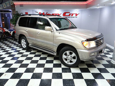 2005 Toyota Land Cruiser Base Sport Utility 4-Door 05 Toyota Land Cruiser Luxury SUV 4x4 3rd Row Seats Navigation Moonroof Lo Miles