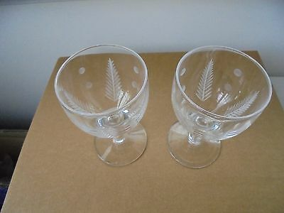 Will post - Pair Stuart Woodchester with dot glasses