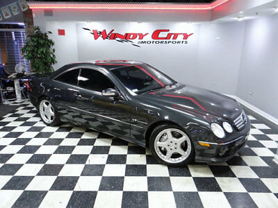 2003 Mercedes-Benz CL-Class 2dr Coupe 5.5L AMG 2003 Mercedes Benz CL55 AMG Coupe Supercharged 500HP Low Miles Navigation & More
