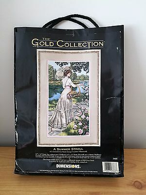 The Gold Collection (Cross Stitch) - A Summer Stroll