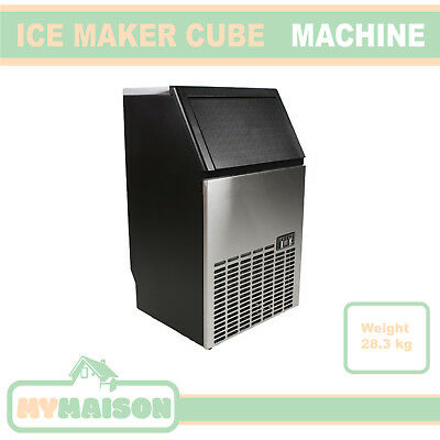 New Automatic Ice Maker Commercial Portable Machine Cube 45-60Kg/Day 240V