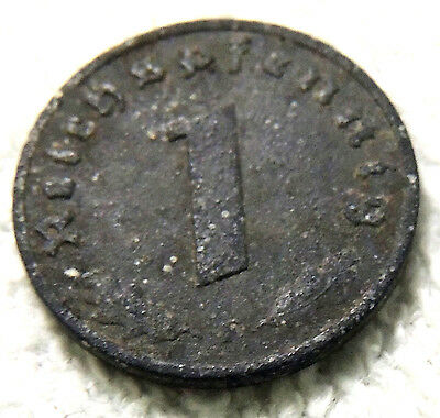 Germany - One Reich Pfenning Coin - 1942 - Reasonable Cond-Deceased Estate