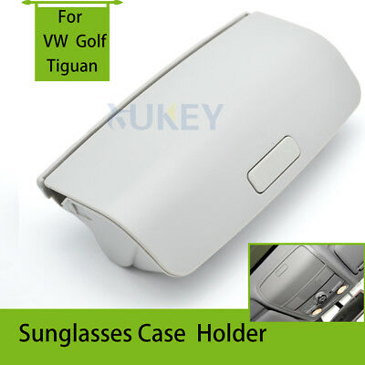 Sun Glasses Storage Case Box For VW Golf 5 6 Passat B6 Jetta Skoda Superb