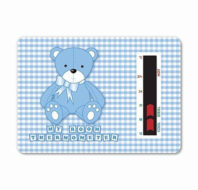 Baby Bear Room Thermometer (Blue) To help you maintain a safe temperature