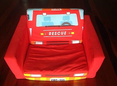 Kids Flip Out Sofa Bed Fire Rescue