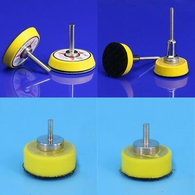1'' 2'' Hook And Loop Backing Pad 2.35/3/3.2/6mm Shank For Sanding Disc Drill