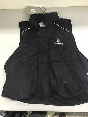 Size XL New Armored Air Jackets Motorcycle Vest Air Bag Black **On Sale**