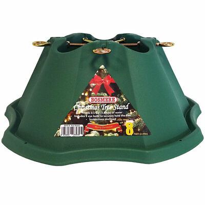 8 ft Christmas Tree Stand Bosmere Large Heavy Duty Water Reservoir Fresh Trees