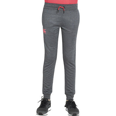 Canterbury Boys Tapered Cuff Tailored Fit Fleece Pants Trousers