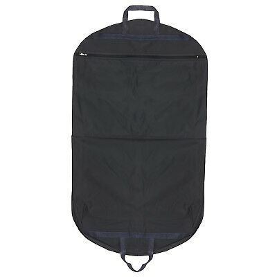 """Hoesh 42"""" Navy Waterproof Lightweight Thick Strong Nylon Men Suit Carrier Bag"""
