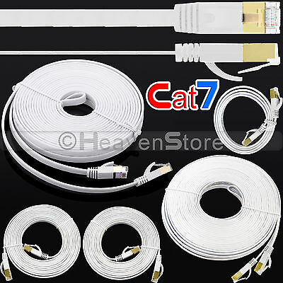 RJ45 High Speed Cat 7 Ethernet Lan Network Cable UTP SSTP Patch forPC Laptop LOT